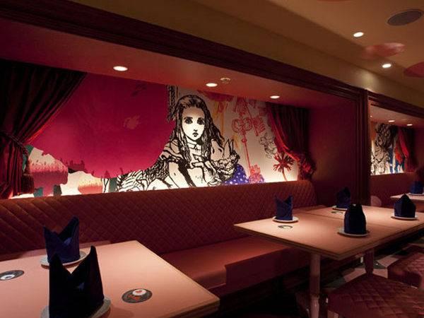 Alice Wonderland Restaurant Interior Design