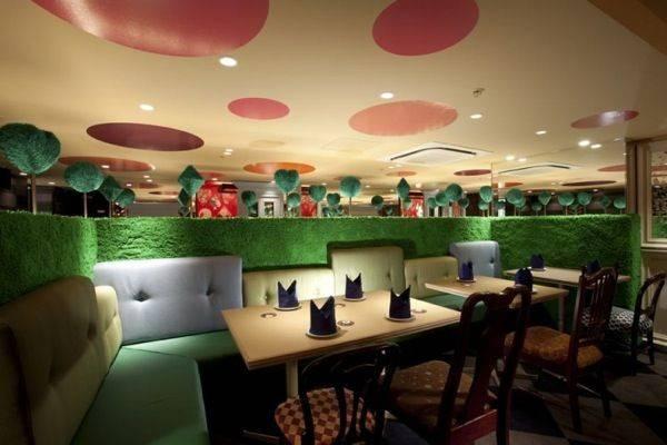 Alice Wonderland Restaurant Pinterest