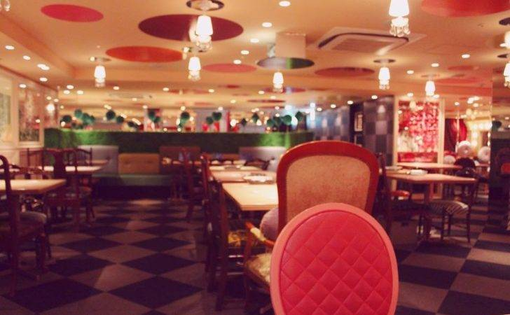 Alice Wonderland Restaurant Shinjuku Tokyo Japan Diamond Dining
