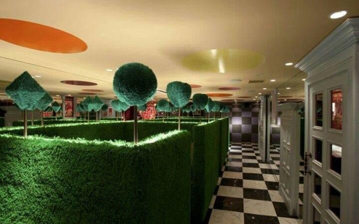 Alice Wonderland Restaurant Tokyo Japan Pinterest