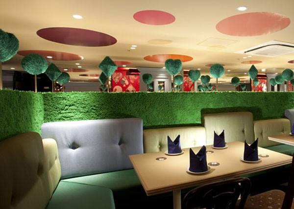 Alice Wonderland Themed Restaurant Designshell