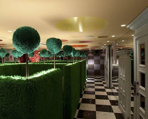Alice Wonderland Themed Restaurant Japan Designed Fantastic