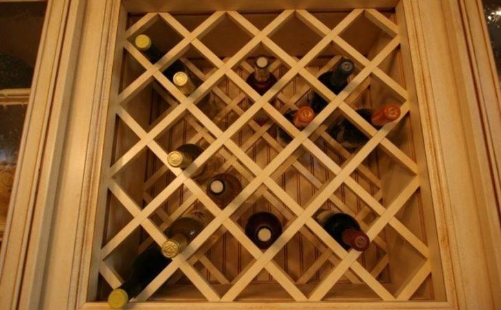 All Galleries Custom Options Wine Rack Lattice Criss Cross