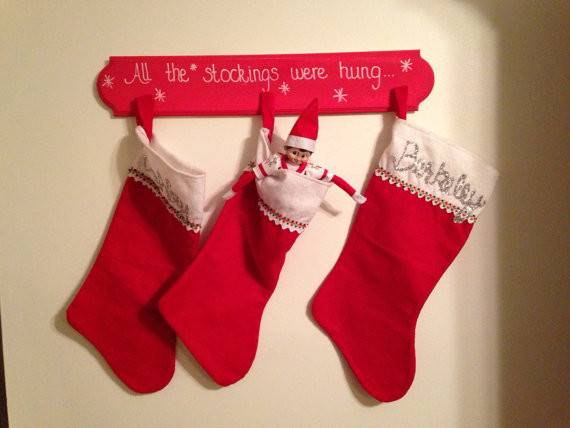 All Stockings Were Hung Stocking Holder