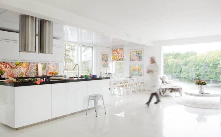 All White Scandinavian House Design Views Digsdigs