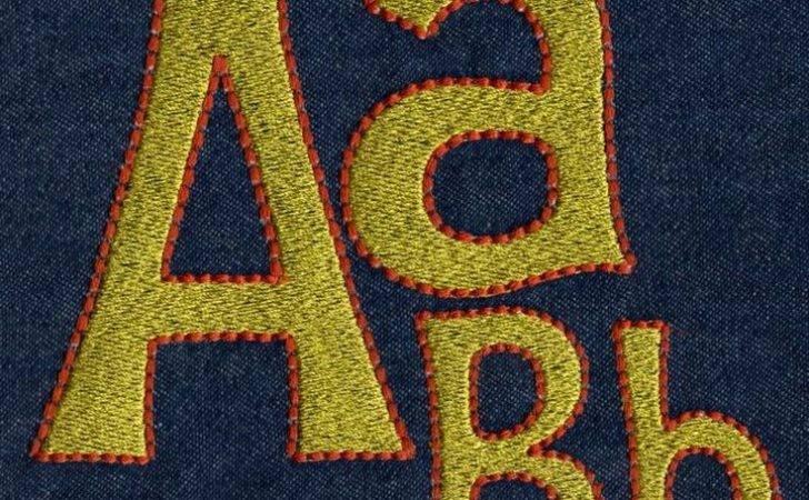 Aloha Fill Floss Font Jolson Designs Embroidery Fonts