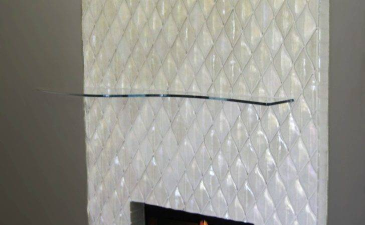 Alpentile Glass Tile Swimming Pools Contemporary Fireplace