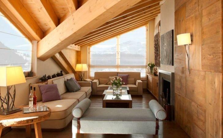 Also Modern Minimalist Swiss Chalet Interior Design