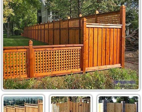 Alta Top Cedar Fencing Fence Ideas Decorcamp More