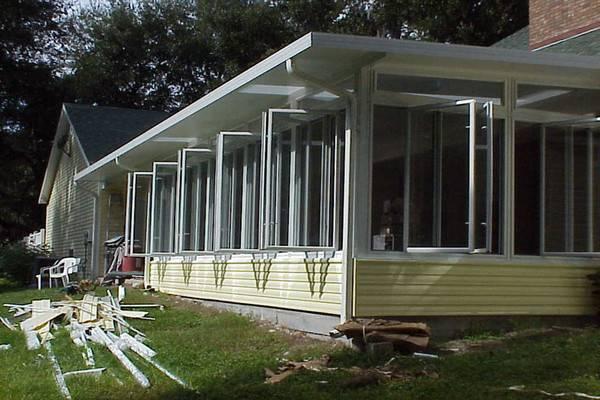 Aluminum Screen Porch Panels Windows