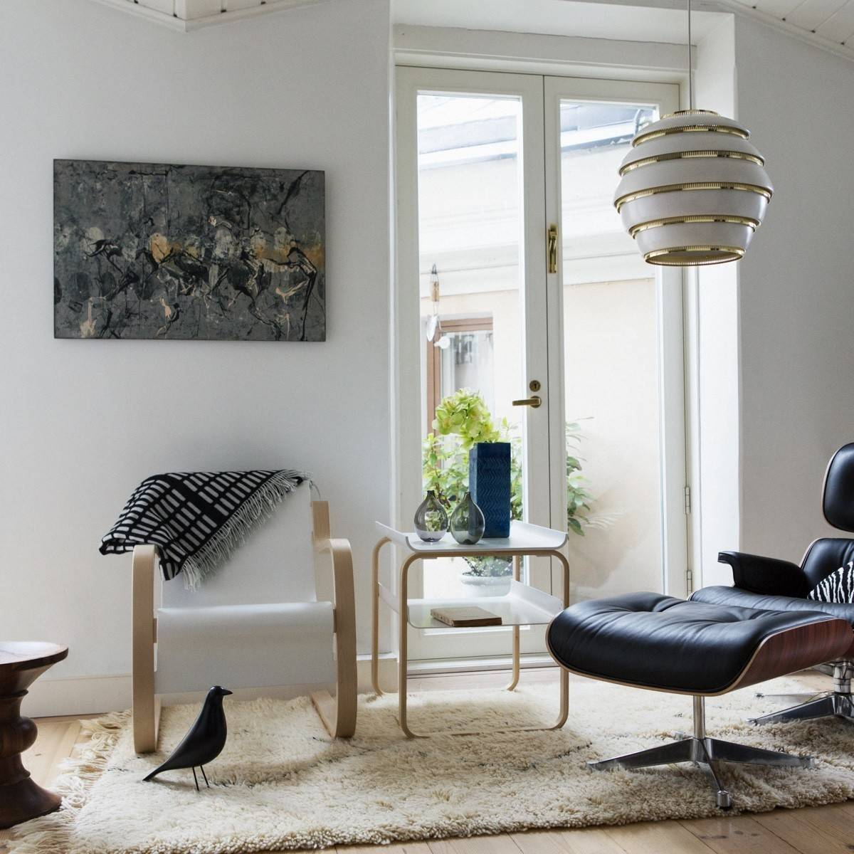 Alvar Aalto Designs Shown Alongside Vitra Design Pieces