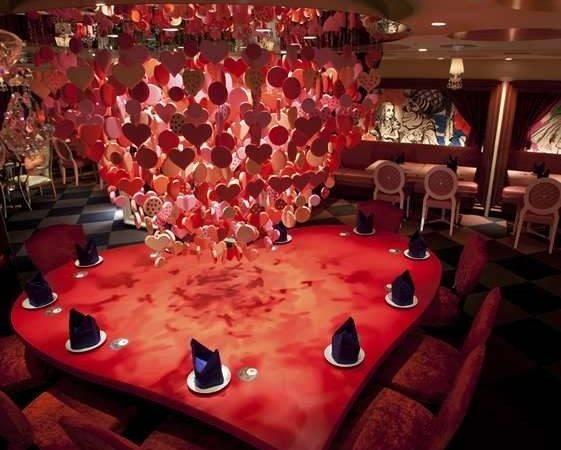 Amazing Alice Wonderland Themed Restaurant Tokyo
