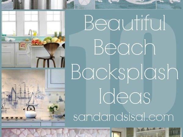 Amazing Beach Backsplash Cottage Coastal