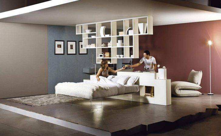 Amazing Bed Seems Float Mid Air Daniele Lago Suspended