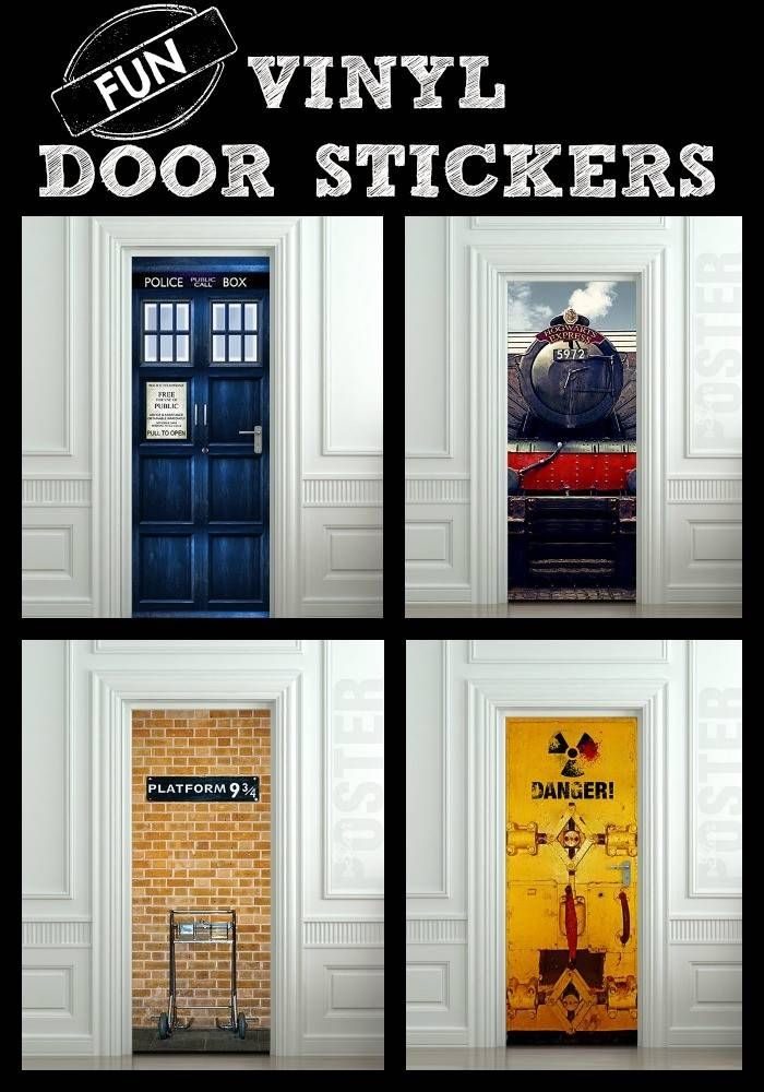 Amazing Bedroom Door Stickers