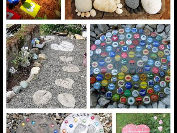 Amazing Diy Stepping Stone Ideas Tag