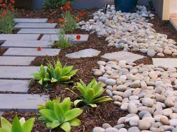 Amazing Ideas Adding River Rocks Your Home Design