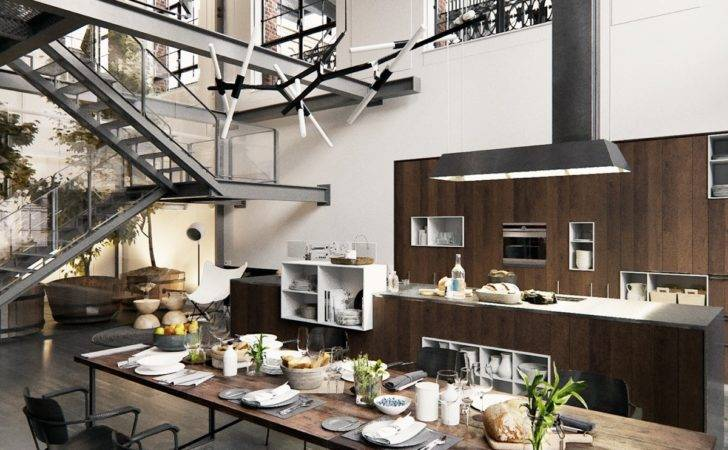 Amazing Kitchen Dream New York City Loft