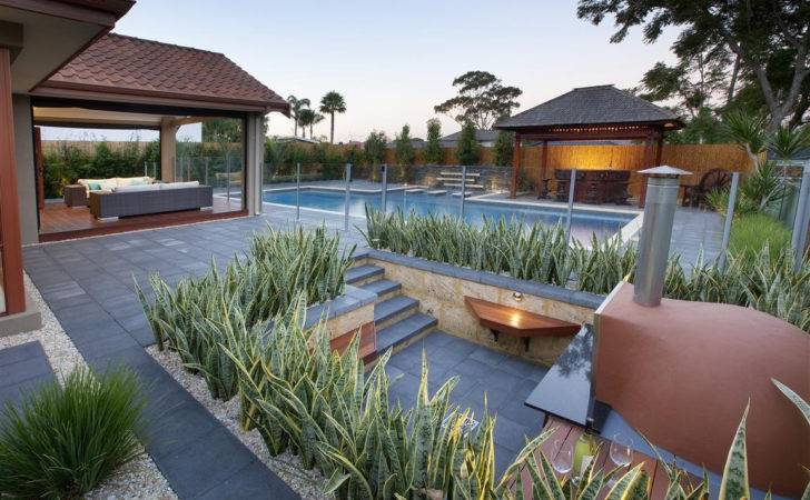 Amazing Landscaping Around Pool Swimming Pools Pinterest
