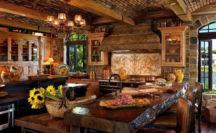 Amazing Mediterranean Kitchen Transports Into Dreamy Cozy