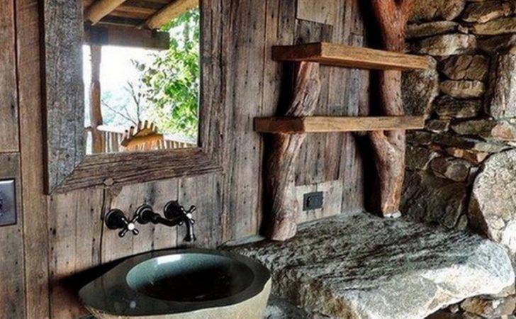 Amazing Rustic Bathroom Designs