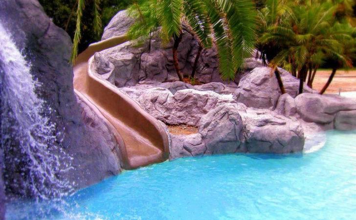 Amazing Swimming Pool Slides Interior Exterior Ideas