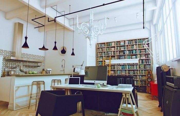 Amazing White Compact Studio Apartment Design Cool