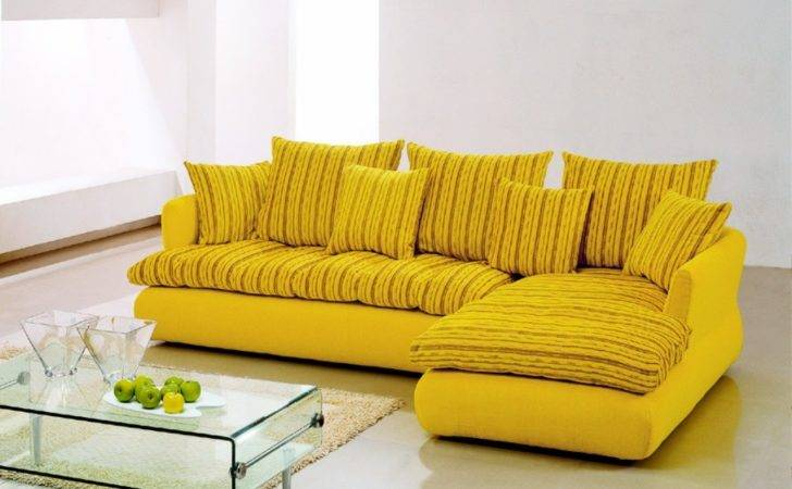 Amazing Yellow Sofas Modified Beautifully Using Floral Sofa Motif