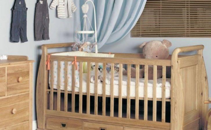 Amelie Oak Cot Bed Drawers Luxury Nursery Furniture Kent