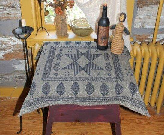 Americanmade Table Square Heirloom Weavers