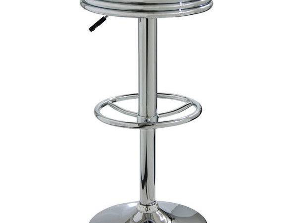Amerihome Soda Fountain Red Bar Stool Overstock