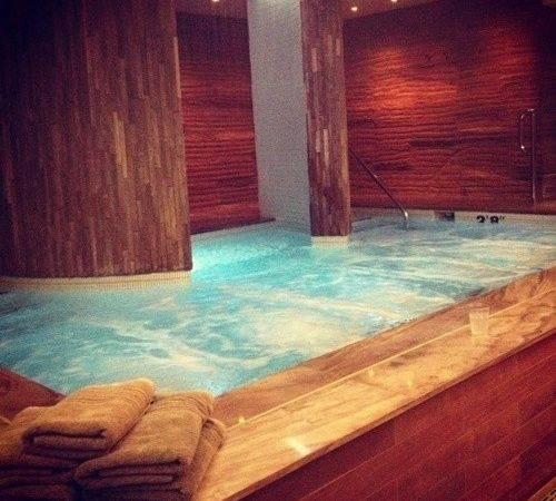 Ammmmaaazing Indoor Spa Hot Tub Pinterest