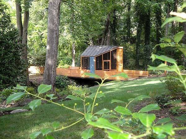 Ampersand House South Carolina Backyard Retreat