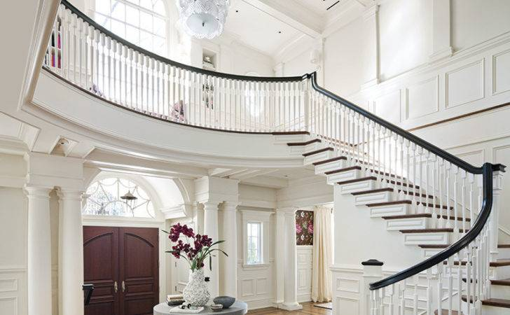 Ample Entrance Hall Worthy Downton Abbey Designer