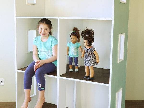 Ana White Three Story American Girl Dollhouse Diy Projects