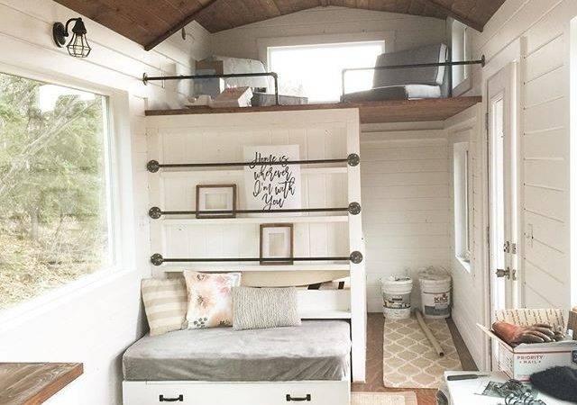 Ana White Tiny House Interior