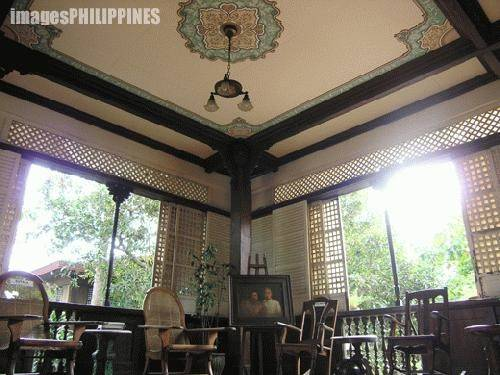 Ancestral House Ceiling Place Taken Lipa City Batangas Philippines