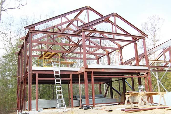 Andar Steel Sample Home Model Frame Homes House Plans