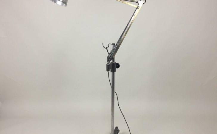 Anglepoise Medical Trolley Floor Lamp Forties George