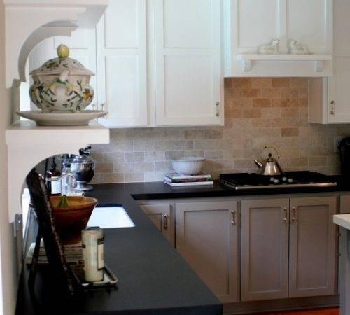 Another Greige White Kitchen Sense Place Pinterest