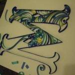 Another Tutorial Quilled Letters Quilling Pinterest