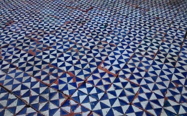 Antique Blue White Gazed Terra Cotta Tiles Add Bookmark