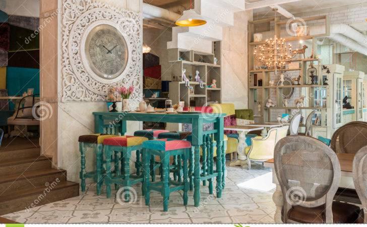 Antique Cafe Interior