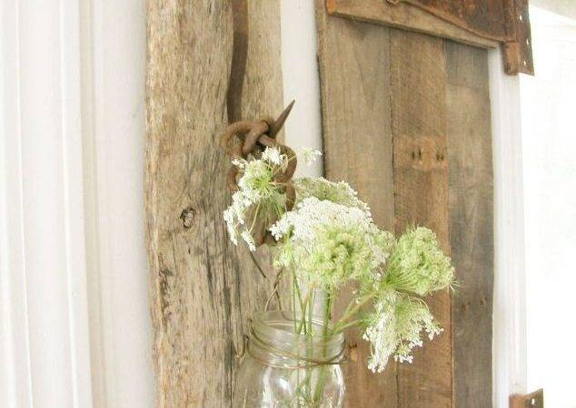 Antique Farmhouse Tools Become Rustic Decor Repurposing Upcycling