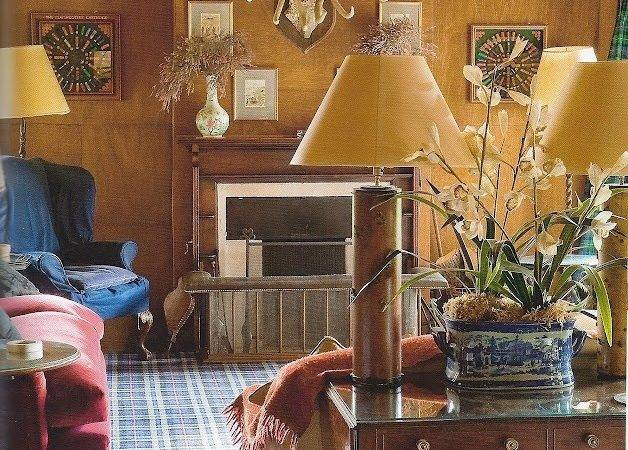 Antique Hunting Lodge Living Room Drynachen Highland