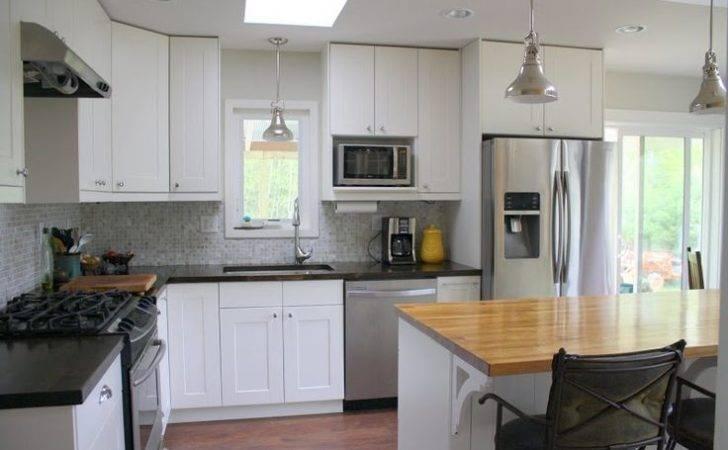Antique Look Ikea Butcher Block Super Cheap Whole Kitchen