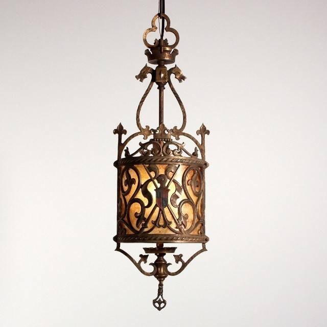 Antique Spanish Revival Lighting Mediterranean
