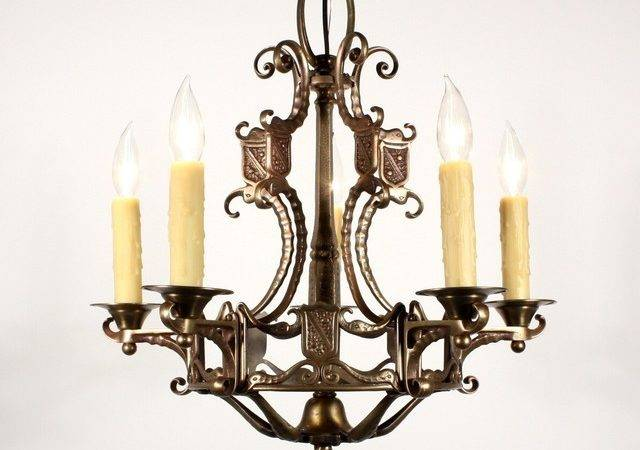Antique Spanish Revival Lighting Mediterranean