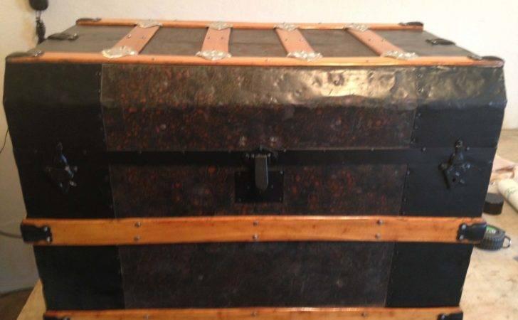 Antique Steamer Trunk General Info Restoration Values