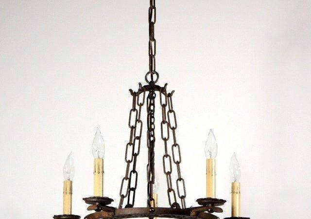Antique Tudor Lighting Mediterranean Chandeliers